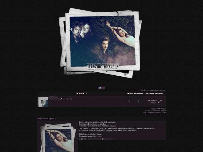 Twilight session.