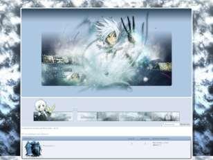 Manga : allen walker bleu