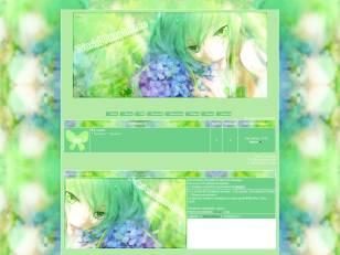 Flowers, green