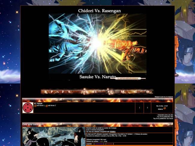 Naruto vs Sasuke vs Itachi