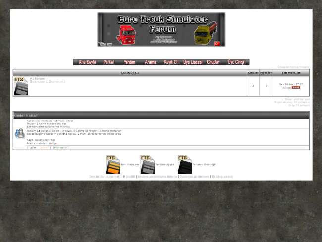 Grey Full Theme | Euro Truck Simulator V.5 |