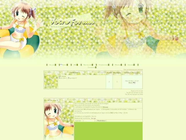 Manga fille themes reira