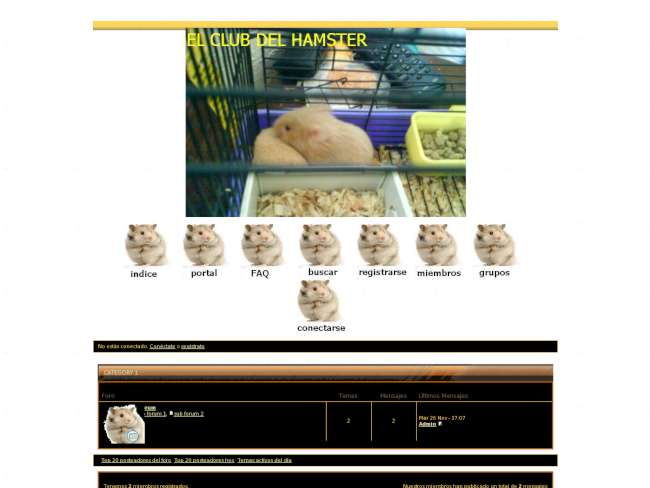 El hamster amigo