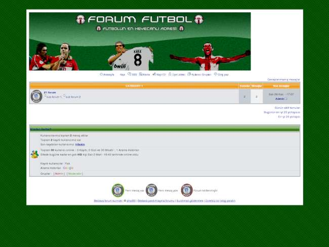 ForumFutbol Futbol'a Dair Herşey