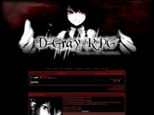 D-Gray RPG in the Wond...