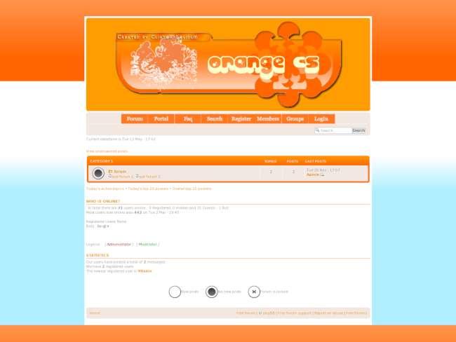 Orange CS