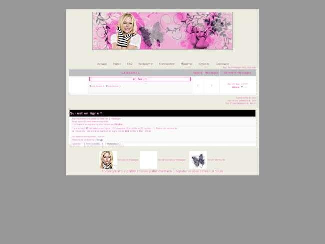Pink Avril Lavigne