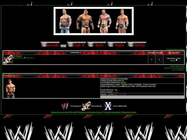 WWE RPG TOPLAMA FORUM