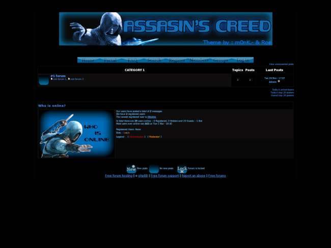 Assassin's creed theme