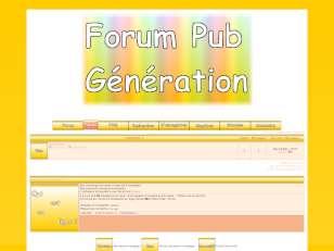 Pub génération