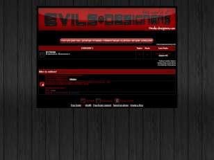 Evils-designers theme