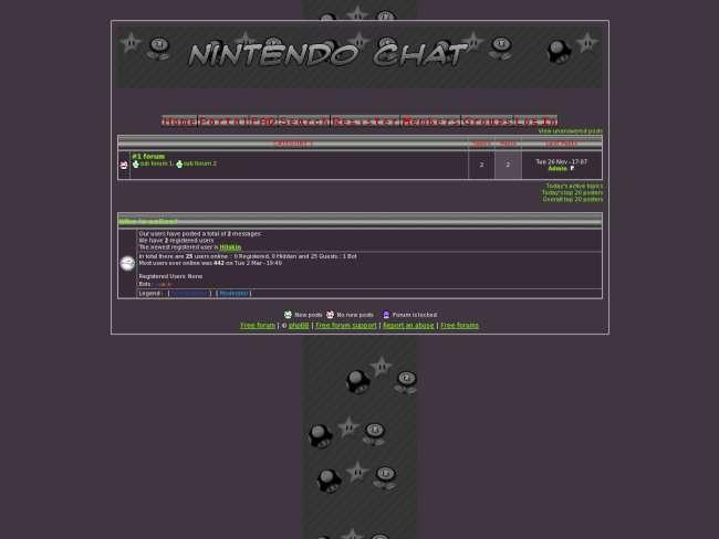 Nintendo chat v.2