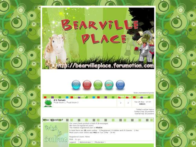 Bearville place enchan...