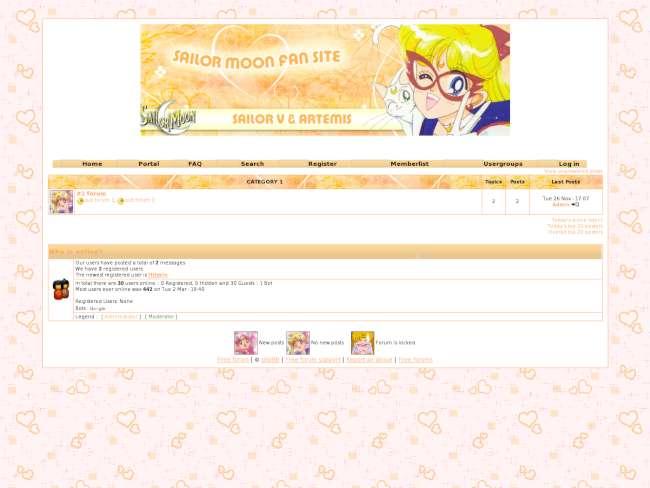 Sailor Moon [ Ay Savaşçısı Teması