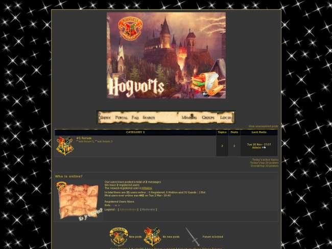 Hogwarts->