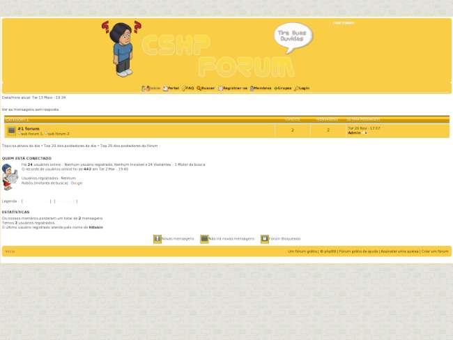 Cshp fórum