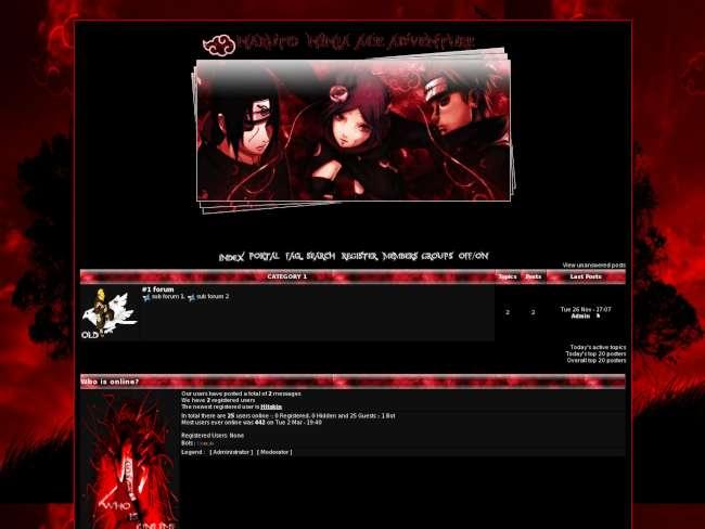 http://ninjaaceadventure.forumotion.com/forum.htm