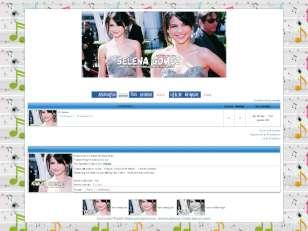 Selena gomez fan mavi