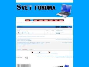 Svet foruma