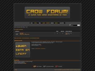 Crow forum style orange!