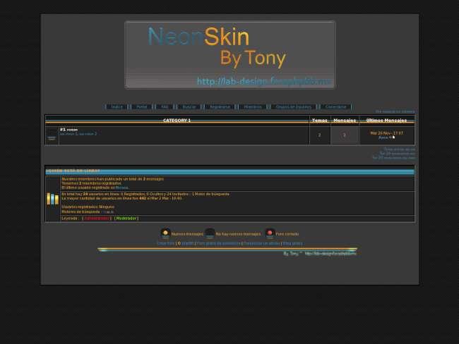 Neon Skin