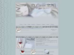 D-Gray RPG anniversair...