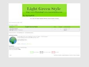 Light green style