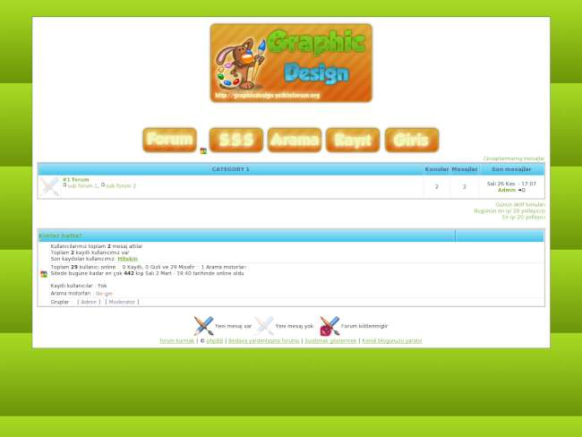 Graphic design turuncu...