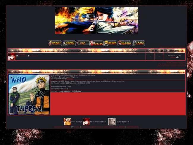 Naruto dark styl
