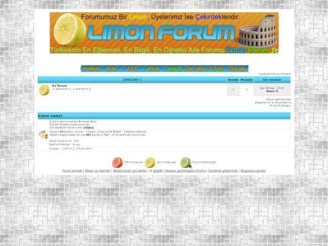 Limon fan v2 teması