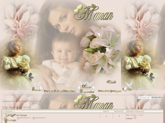 Phpbb3 mother's day