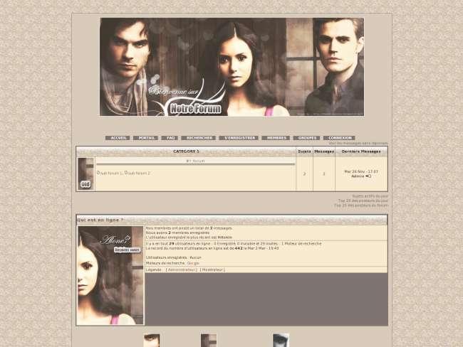 The vampire Diaries 3