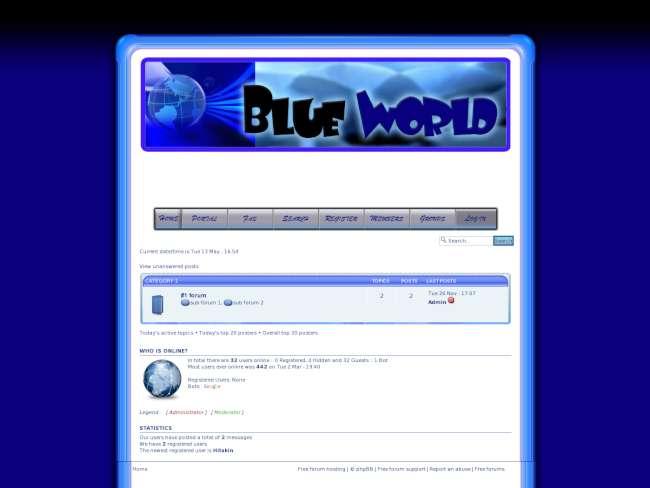 Blue World CS
