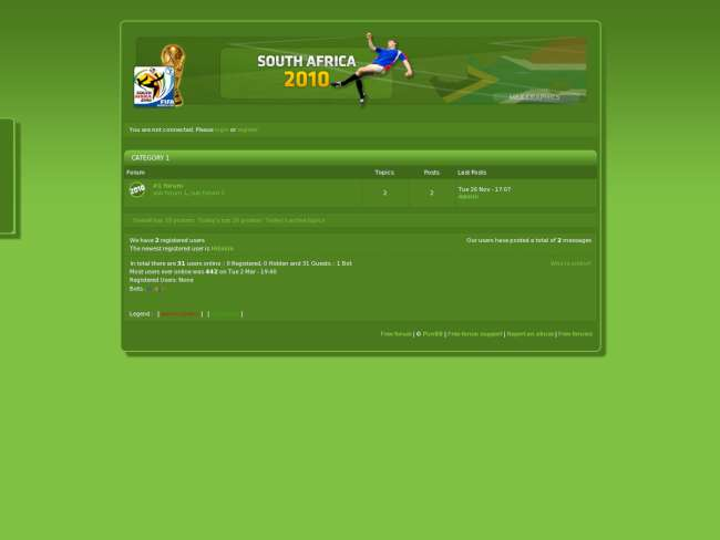 Soccer World Cup - Africa 2010