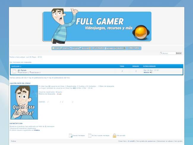 Full Gamer Style V.1