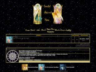 Gold saint design