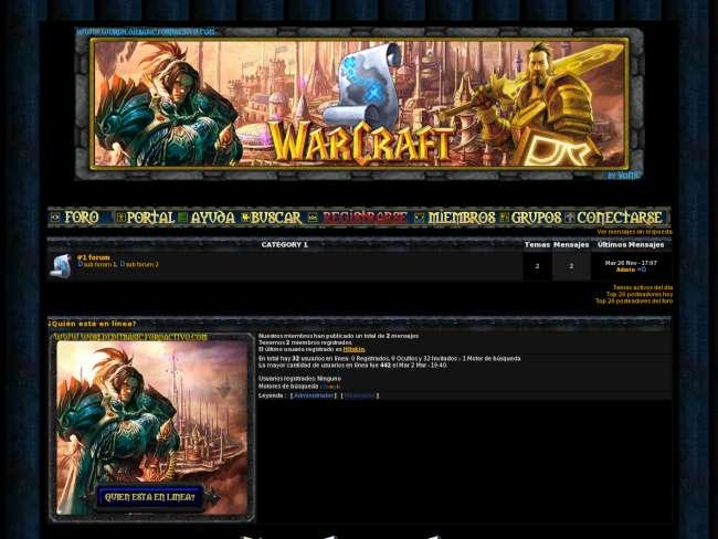 Warcraft humanos