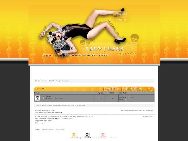 Lady Gaga Serbia - Poison