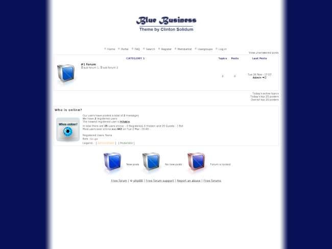 Blue Business