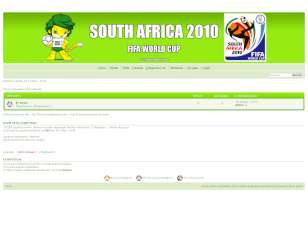South africa 2010 fifa...