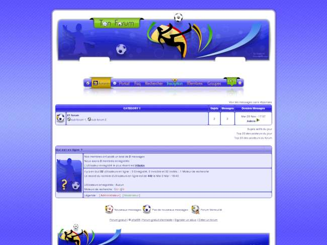 :just foot  ~ phpbb2