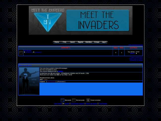 MeetTheInvaders - Our Gaming Is Not A CRIME!