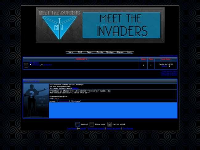 Meettheinvaders - our ...