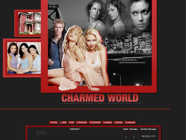 Charmed world
