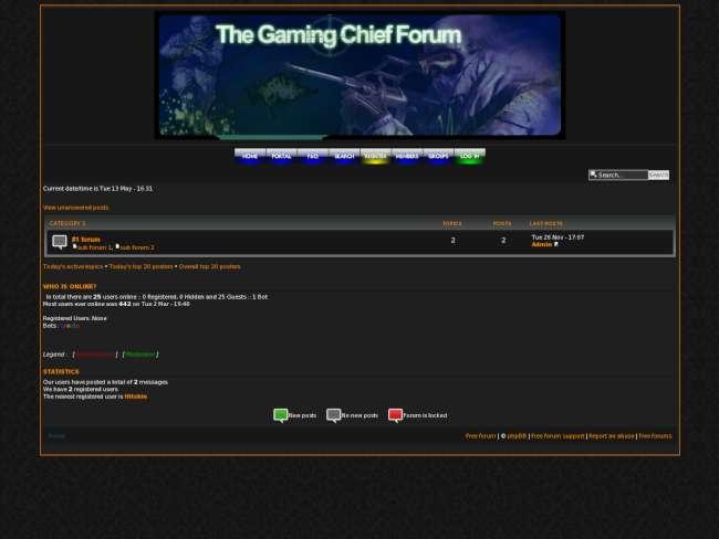 Gaming Forum