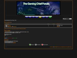 Gaming forum