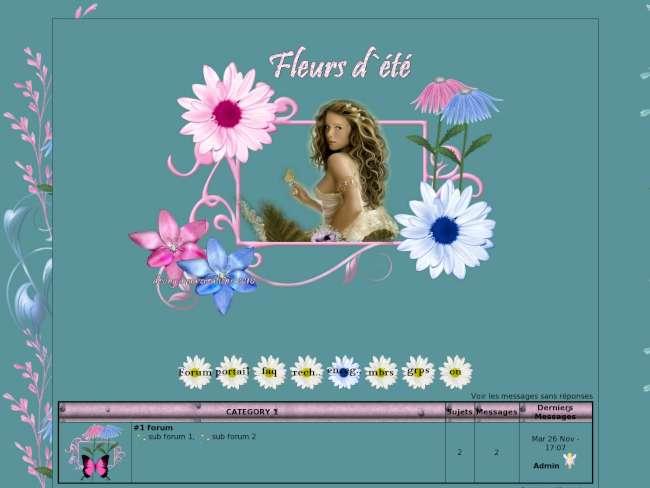 Fleurs d`été