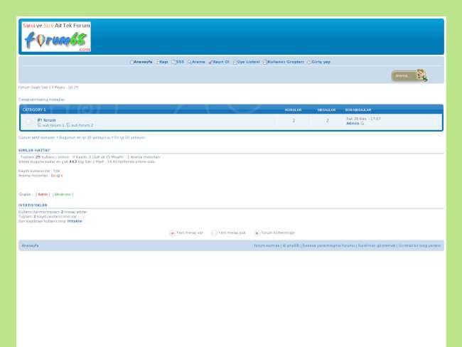 Forum68 teması v-2.0