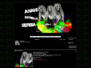 Anahi estrella serbia