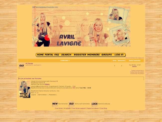 Avril Lavigne skin by: me